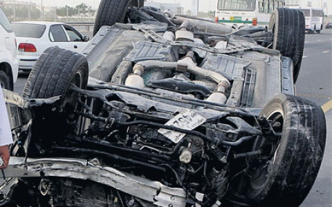 Photo: Abu Dhabi hospital helps family of car accident victim donate his organs, saving 4 lives