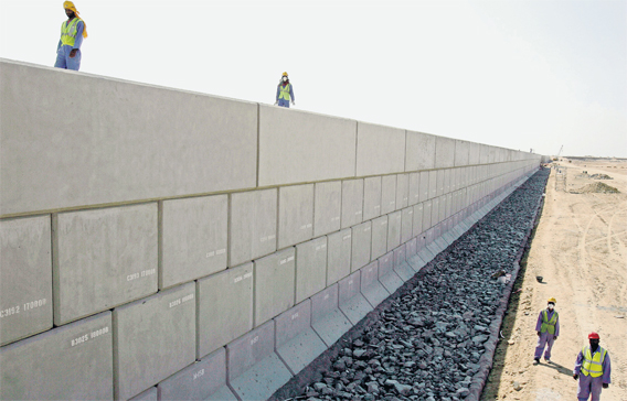 Fibre polymer replaces steel bars in major projects