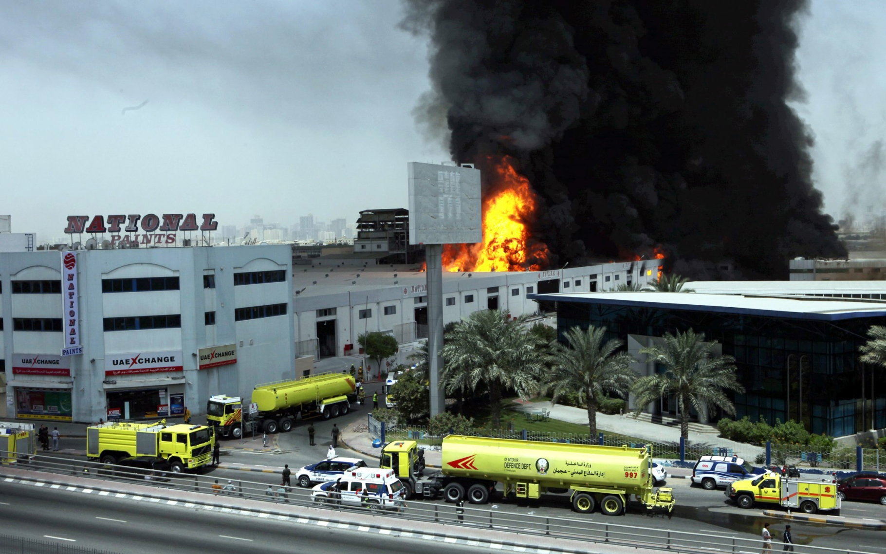 Fire at National Paints plant - Emirates24|7