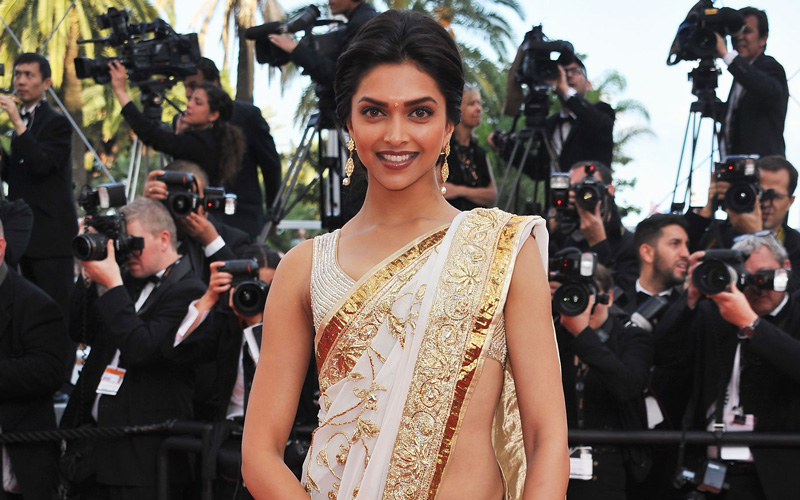 Actress Deepika Padukone attends the 'On Tour' Premiere at the Palais des Festivals during the 63rd Annual Cannes Film Festival on May 13, 2010 in Cannes, France. (GETTY IMAGES)
