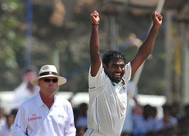 Image result for muttiah muralitharan taking 800th wicket in Galle