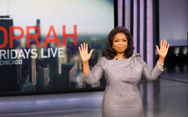 pantyhose in Oprah winfrey