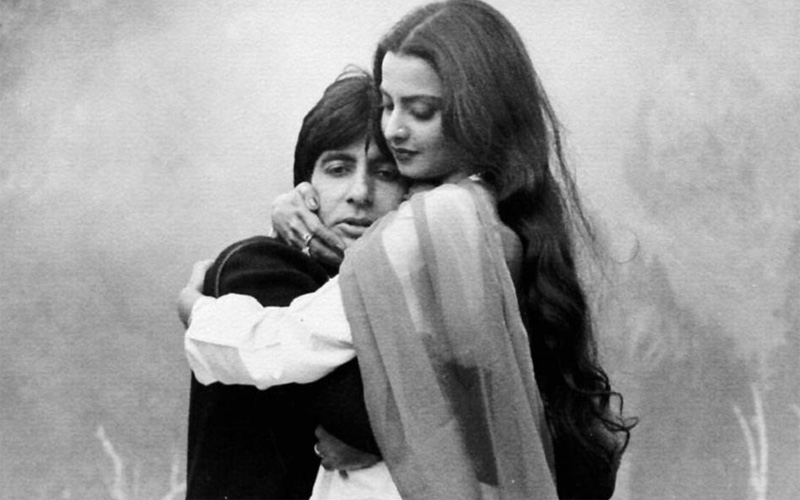 Rekha and Amitabh Bachchan have not appeared in a film together again since 1981's 'Silsila' (FILE)