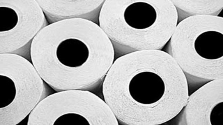 Photo: Woman makes own toilet paper amid coronavirus pandemic
