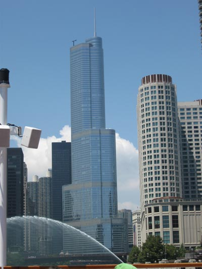 Trump International Hotel and Tower (Chicago). (SUPPLIED)