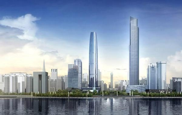 Guangzhou International Financial Centre. (CHINA)