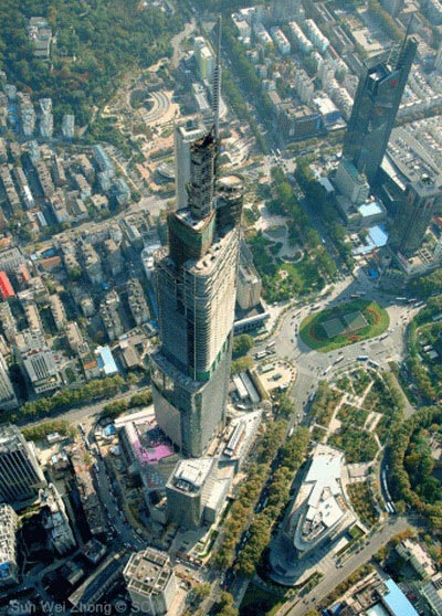 Nanjing Greenland Financial Center. (China). (SUPPLIED)