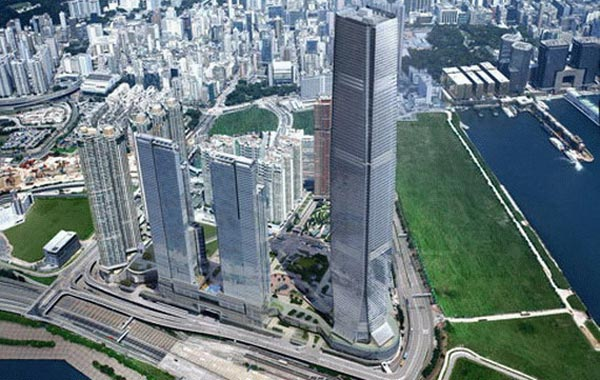 International Commerce Centre. Hong Kong. (SUPPLIED)