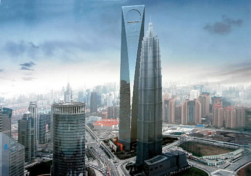 Shanghai World Financial Centre, China. (SUPPLIED)