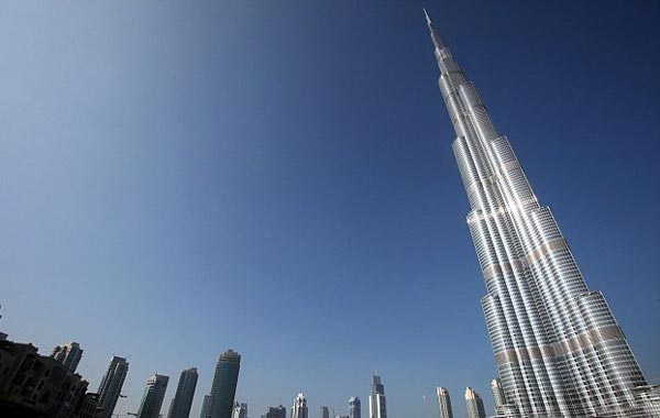 Burj Khalifa, Dubai. (SUPPLIED)