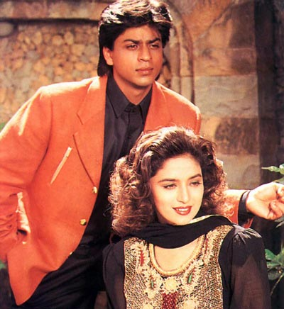 In 1994, Khan once again played an obsessive lover/psycho's role in 'Anjaam', co-starring with Madhuri Dixit. Though the movie was not a box office success, Khan's performance earned him the Filmfare Best Villain Award. (FILE)