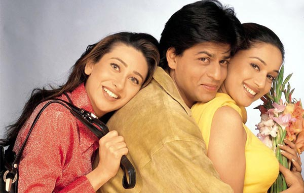 His second project with Yash Chopra as a director, 'Dil to Pagal Hai' became the second highest-grossing movie in 1997, and won Khan his third Filmfare Best Actor Award for his role as a stage director who falls in love with one of his new actresses (FILE)