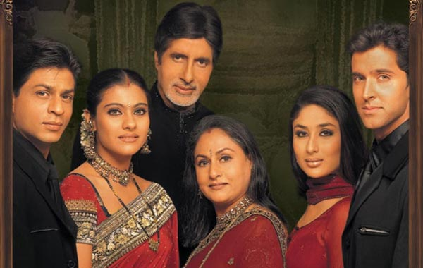 Khan's 2001 project with Karan Johar featured Amitabh Bachchan, Jaya Bachchan, Kajol, Hrithik Roshan, Kareena Kapoor and Rani Mukerji. It was one of the first Bollywood films to truly tap the expat Indian audience and was a long-running cinematic hit (FILE)
