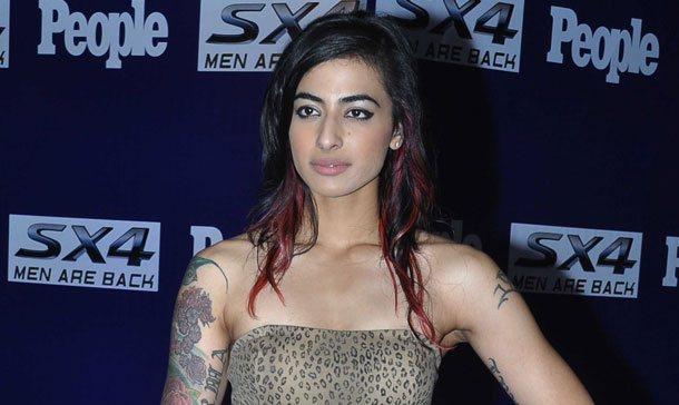 Indian Television MTV VJ Bani arrives to attend a People Magazine theme party in Mumbai. (AFP)