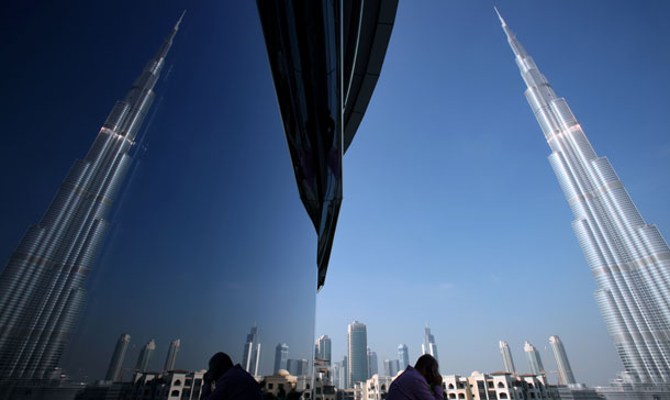 A Dubai Based Online Company Is Advertising One Night Stay In Bedroom Apartment The Burj Khalifa File