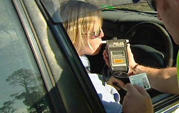 Drink driving is a serious offence in the country and drivers are asked to abide by the law. (AGENCY)