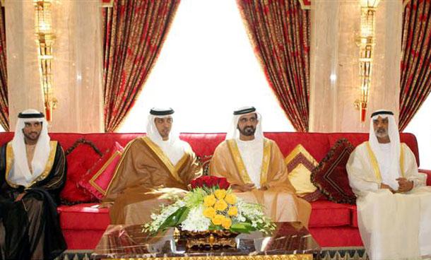 Mohammed Bin Rashid meets Ministers. (WAM)