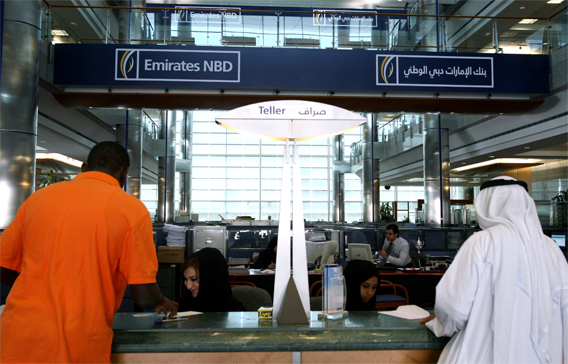 Dubai-based Emirates NBD is the largest bank by assets in the Arab World (FILE)