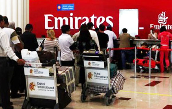 The Mumbai-Dubai sector was the most popular International route to and from India, followed by the Delhi-Dubai sector. (AGENCY)