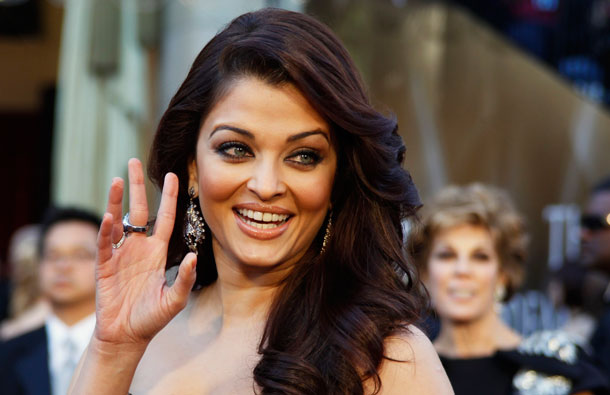 Bollywood actress Aishwarya Rai arrives at the 83rd annual Academy Awards in Hollywood, California. (REUTERS)