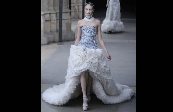 With whoever was chosen to design the dress bound by a strict confidentiality agreement, it looked unlikely that the secret would come out before Middleton walks down the aisle on April 29. (AP)