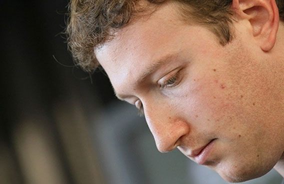 Facebook and co-founder Mark Zuckerberg (AFP)