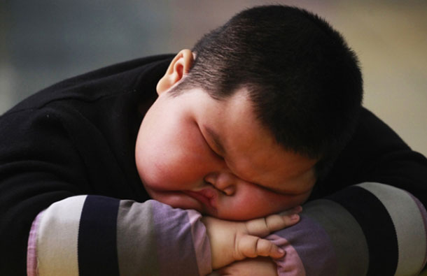 Brown said that parents are the ones who need to control what and how much a child eats. (REUTERS)