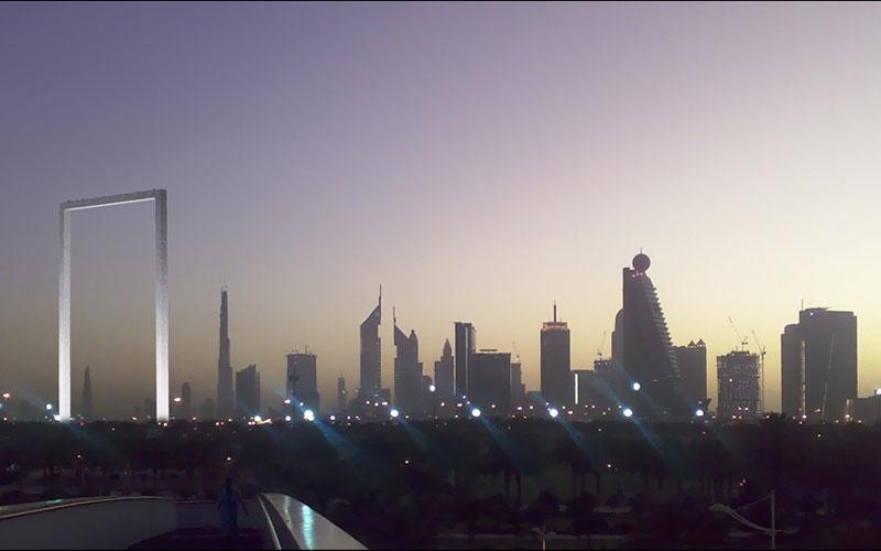 The Dubai Frame (File)