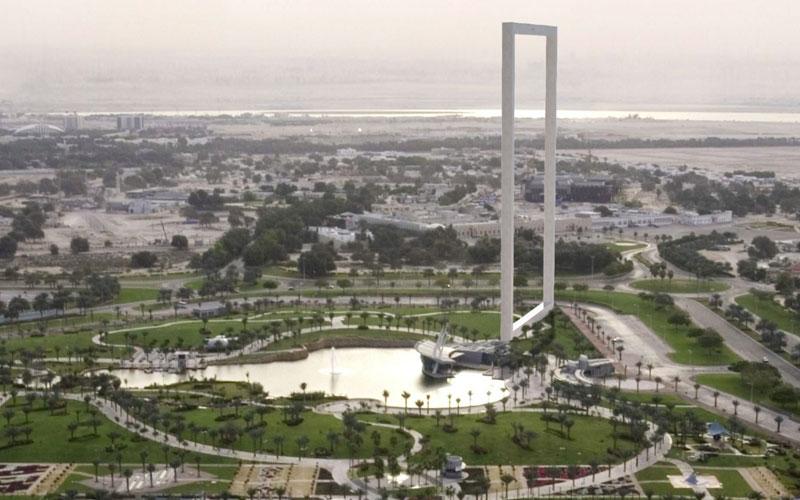 The proposed Dubai Frame (File)