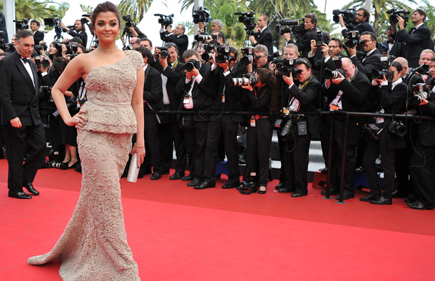 Aishwarya Rai Bachchan attends the Opening Ceremony at the Palais des Festivals during the 64th Cannes Film Festival on May 11, 2011 in Cannes, France. (GETTY/GALLO)