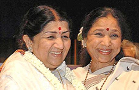 asha bhosle and lata mangeshkar relationship quiz