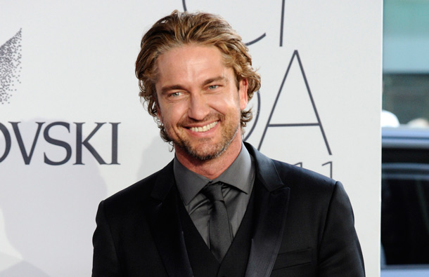 Actor Gerard Butler attends the 2011 CFDA Fashion Awards at Alice Tully Hall in New York. (AP)