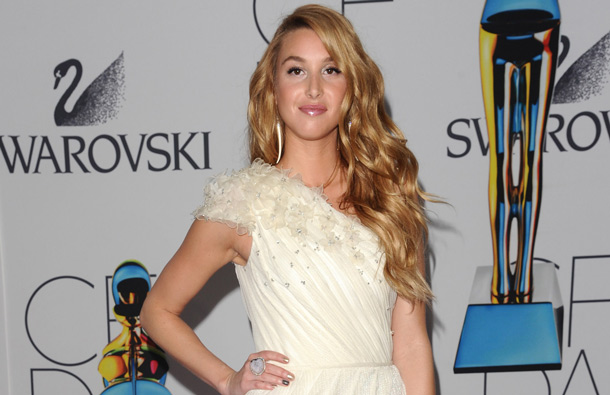 Reality star Whitney Port attends the 2011 CFDA Fashion Awards at Alice Tully Hall in New York. (AP)