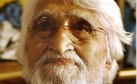 Maqbool Fida Hussain commonly known as MF Hussain, the controversial artist from India dies of a heart-attack in London on June 9. (SUPPLIED)