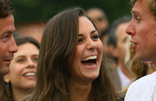 Kate Middleton attends the 46664 Concert In Celebration Of Nelson Mandela's Life held at Hyde Park on June 27, 2008 in London, England. (GETTY/GALLO)