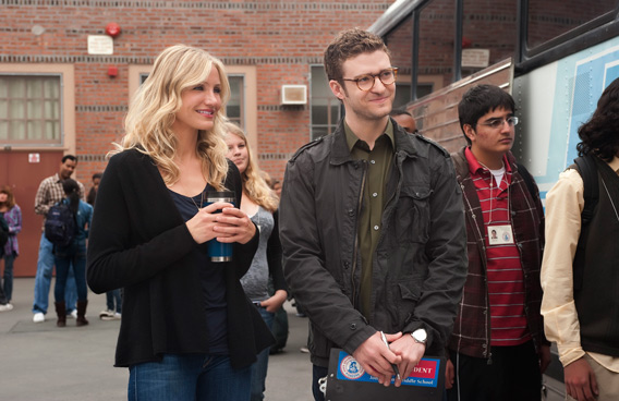 Cameron Diaz and Justin Timberlake (SUPPLIED)
