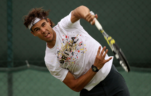 Nadal good to go says uncle toni emirates 24 7 for Toni fish realty