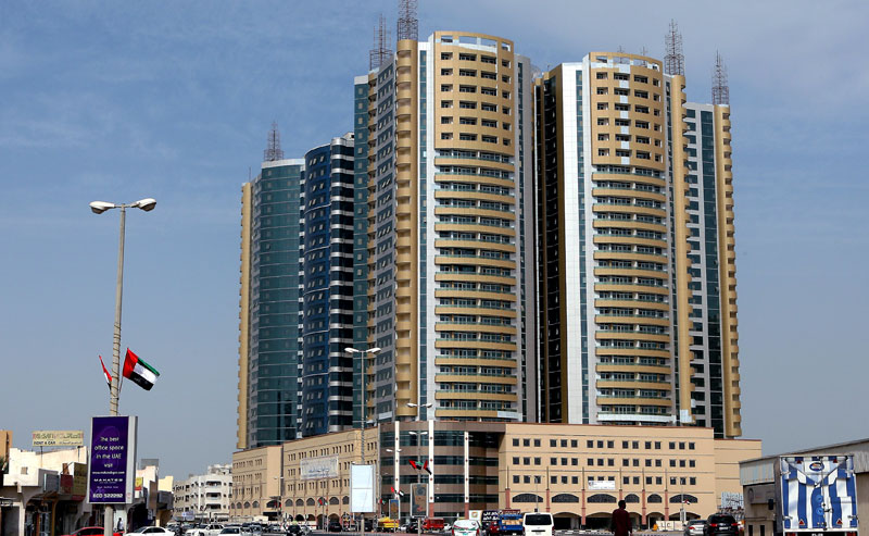 A new property complexed is red for rent in Ajman's Rashidiya. (FILE)