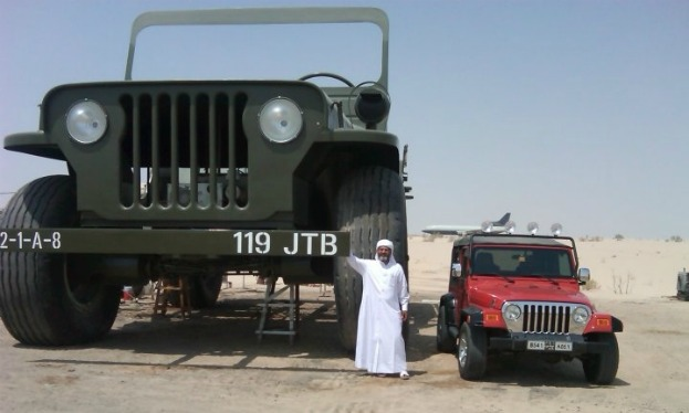 Dodge Power Wagon is 64 times bigger than the original with a whole apartment inside (Facebook)