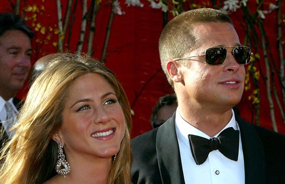 Brad Pitt and Jennifer Anniston (GETTY/GALLO)