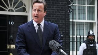 الصورة: Vote for Dubai: UK PM Cameron