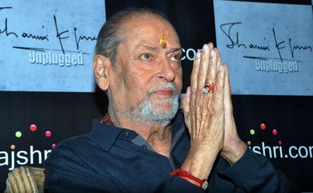 An era in Bollywood came to an end after the demise of veteran actor Shammi Kapoor whose acting and dancing style heavily influenced modern-day Indian film star. On August 14, 2011 legendary Bollywood heartthrob,  aged 79, took his last breath. (AFP)