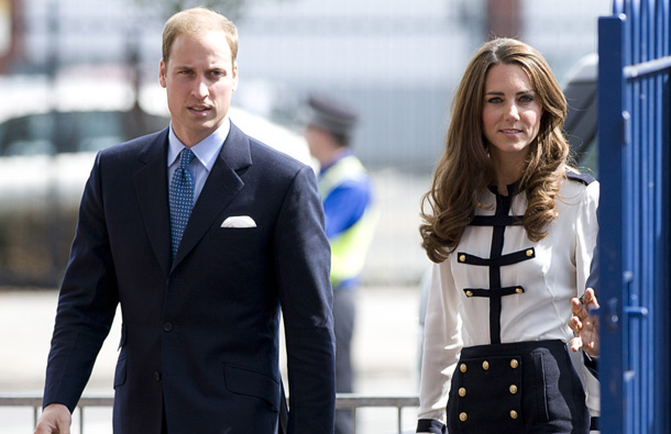 Prince William, Duke of Cambridge and Catherine, Duchess of Cambridge (GETTY/GALLO)
