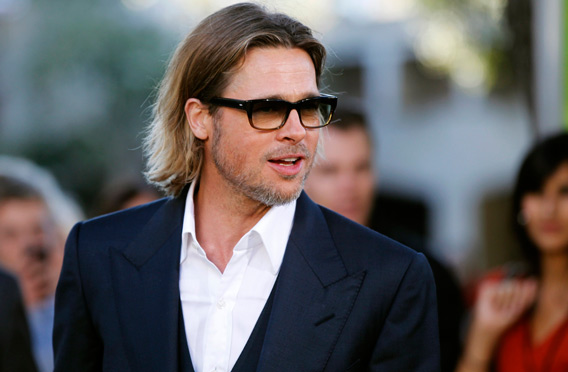 US actor Brad Pitt (REUTERS)
