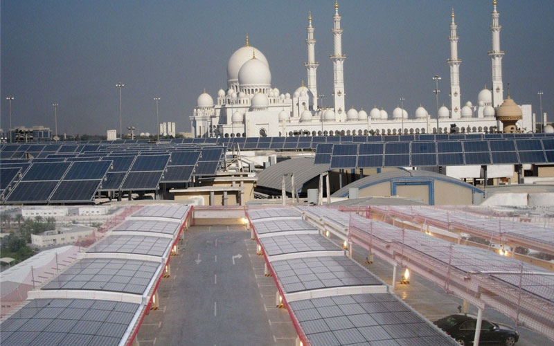 Solar Rooftop Pilot Project Launched In Abu Dhabi
