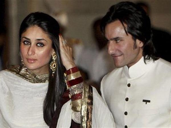 Kareena Kapoor and Saif Ali Khan. (AP)