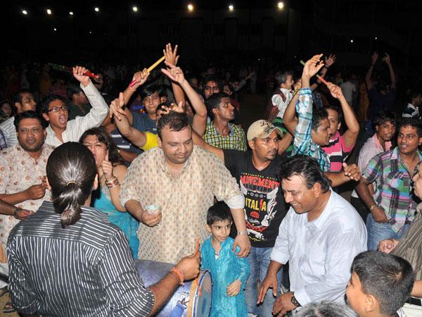 Indians celebrating Navratri in Dubai. (SUPPLIED)