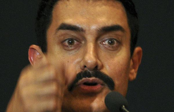 Bollywood actor Aamir Khan. (AFP)