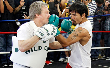Pacquiao fired up for third bout with Marquez - Emirates 24|7