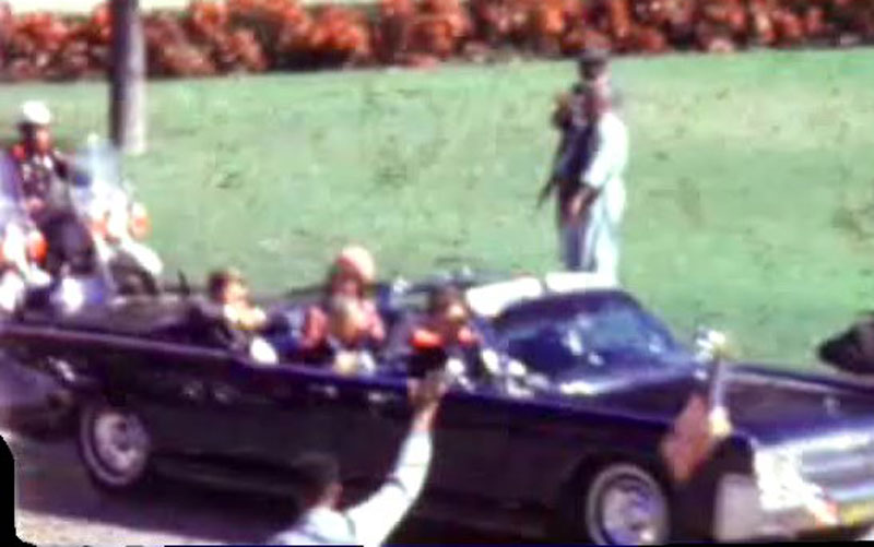 the conspiracy behind jfks assassination Many threateners actually accused the president of being behind jfk's assassination fifty-eight-year-old everett deharpote sent a letter to the white house in 1965, in which he stated, johnson killed john fitzgerald kennedy  .